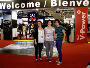 My little Brasil au salon de l'automobile 2012