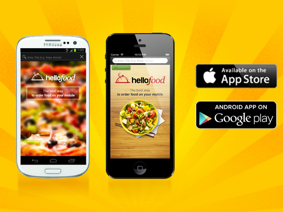 Hellofood-application